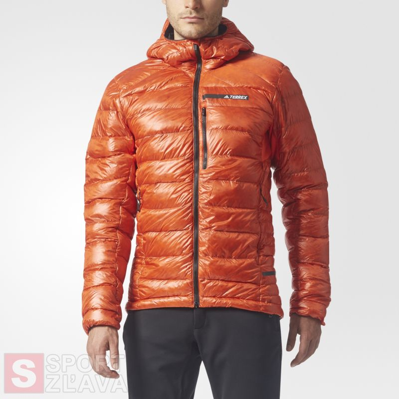 adidas TERREX Climaheat Agravic Down Hooded Jacket BS2512