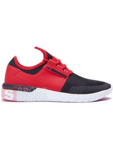 SUPRA FLOW RUN CREAM BLACK WHITE 08021604