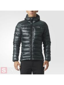 adidas TERREX Climaheat Agravic Down Hooded Jacket BS2510
