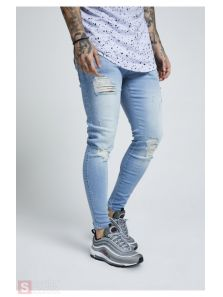 SIKSILK SKINNY DISTRESSED DENIM SS12994