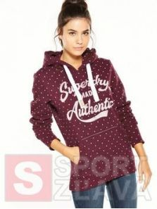 Dámska mikina SUPERDRY MADE AUTHENTIC HOOD G20004HPTPL
