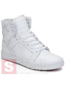 SUPRA SKYTOP WHITE WHITE RED 8003-149
