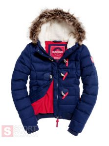 Dámska bunda SUPERDRY MARL TOGGLE PUFFLE JACKET G50001LPF1KF6