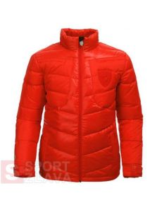 Puma Ferrari down jacket red