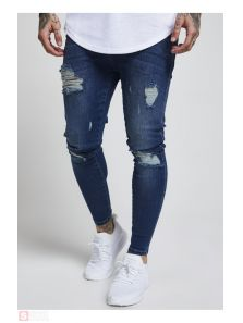 SIKSILK SKINNY DISTRESSED DENIM SS12996