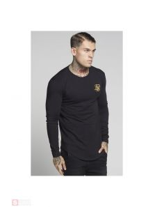 SIKSILK LONG SLEEVE GYM TEE SS14324