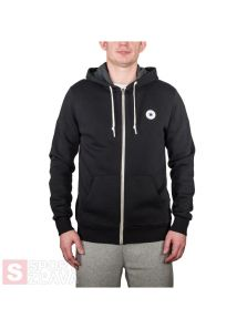 Converse Chuck Patch Zip Hoodie In Black 10004627001