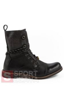 Pánska obuv DEVERGO SHOES AARON DEGM1001CTBLK