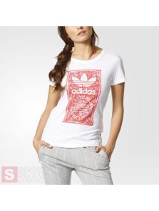 adidas TONGUE LABEL SLIM TEE BK2342