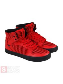 SUPRA VAIDER RED-BLACK 08205603