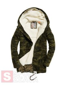 Dámska bunda SUPERDRY ROOKIE SHERPA MULTI JACKET G50013TPF28