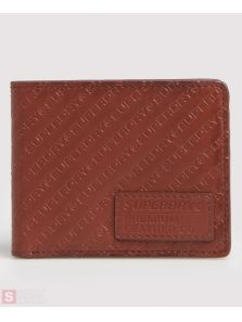 SUPERDRY All Over Print Badge Lineman Wallet M9800003A-CDD